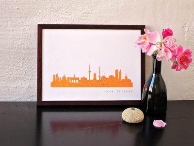 Kunstdruck Skylines