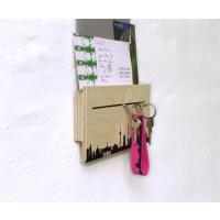 BARCELONA CITY LOOP - Blauer Schlüsselanhänger aus Filz