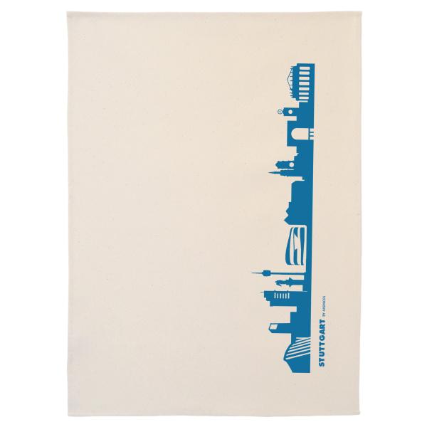 Dish Towel Stuttgart. blue