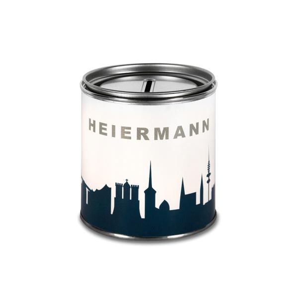 """Hamburg Cash Box. """"HEIERMANN"""" Money box"""