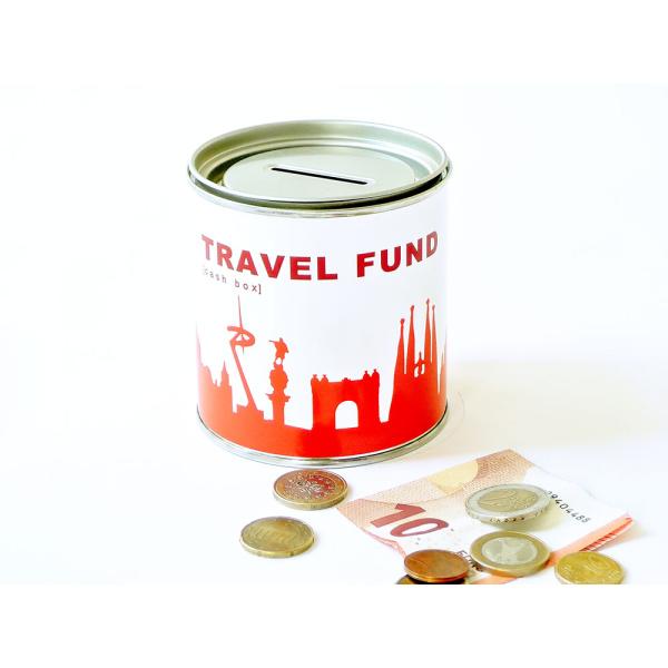 Barcelona Spardose. Travel Fund