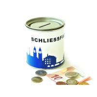 Zürich Spardose. Schliessfach