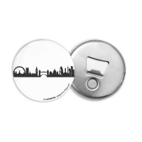 LONDON BOTTLE OPENER. Magnetic bottle opener with skyline...