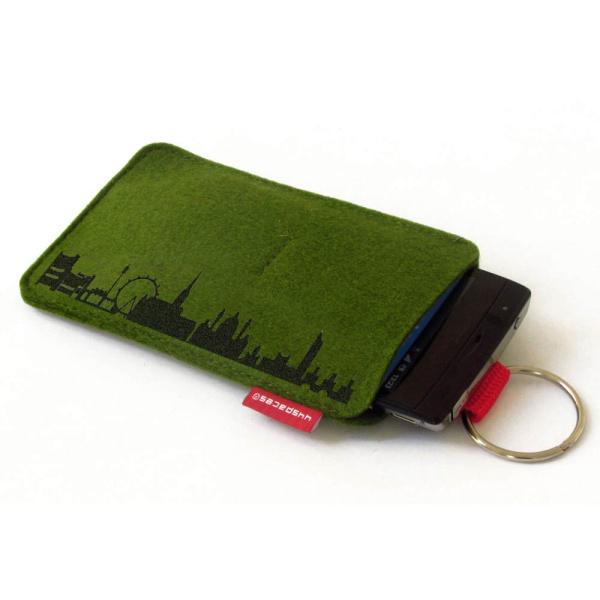 Vienna Sleeve. moss green