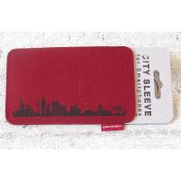 Frankfurt Sleeve. wine red