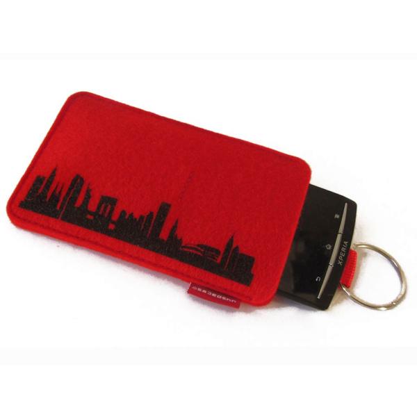 New York Sleeve. red