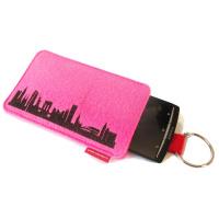 New York Sleeve. pink
