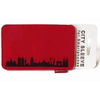 Barcelona Sleeve. red