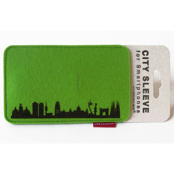 Barcelona Sleeve. grün