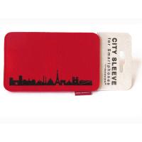 Paris Sleeve. red
