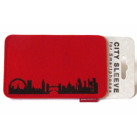 London Sleeve. red