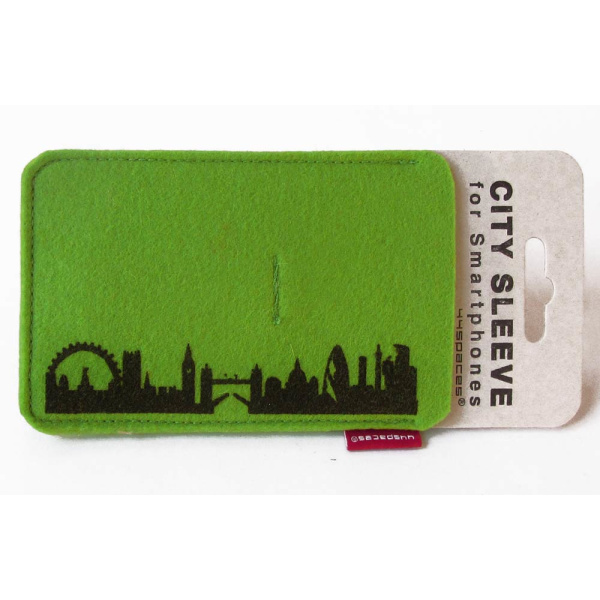 London Sleeve. grün