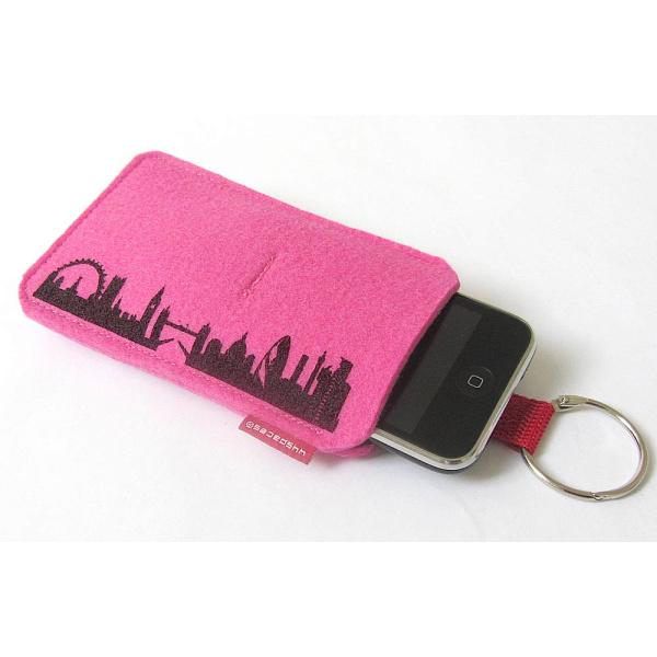 London Sleeve. pink