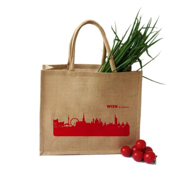 Wien Shopper. rot