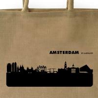 Amsterdam  Shopper.black