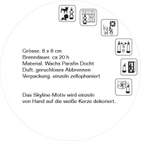 Köln Designkerze