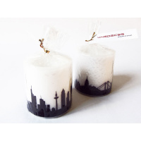 Frankfurt Skyline Candle