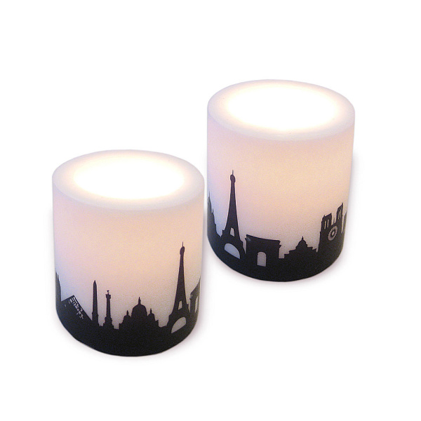 Paris Skyline Candle