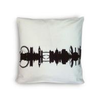 London Cushion. Cotton