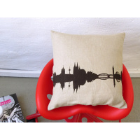 Cologne Cushion. Linen