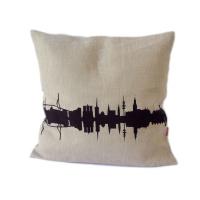 Hamburg Cushion. Linen