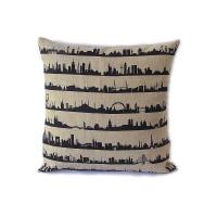 16 Metropolen Cushion. Linen
