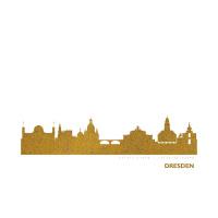 Dresden Skyline Kunstdruck