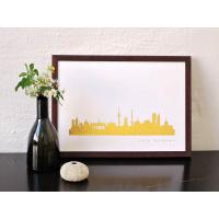 Berlin Skyline Kunstdruck