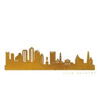 Boston Skyline Kunstdruck