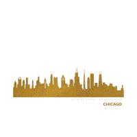 Chicago Skyline Kunstdruck
