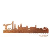 Glasgow Skyline Kunstdruck