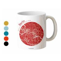 Berlin Tasse Stadtplan