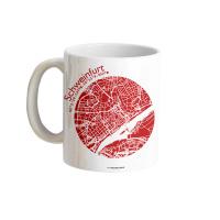 Schweinfurt Tasse Stadtplan