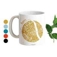 Bonn Tasse Stadtplan