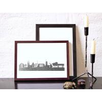 Bielefeld Skyline Kunstdruck