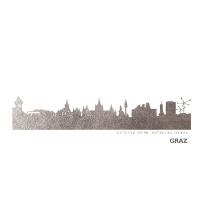 Graz Skyline Kunstdruck