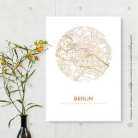 Berlin map circle