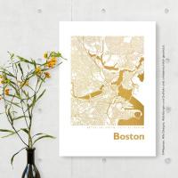 Boston map square