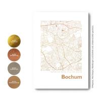Bochum Karte  map square