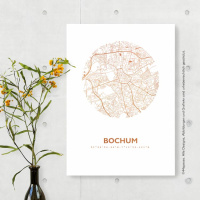 Bochum map circle