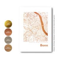 Bonn Karte  map square