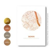 Bonn map circle