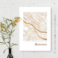 Bremen map square