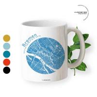 Bremen Tasse Stadtplan