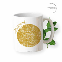 Dortmund Tasse Stadtplan