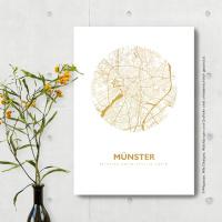 Münster Karte Rund