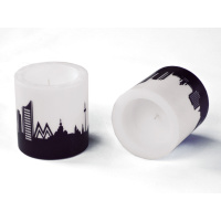 Leipzig Skyline Candle