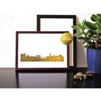 Amsterdam Skyline Kunstdruck