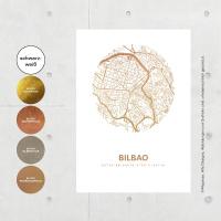 Bilbao Map circle