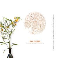 Bologna Map circle